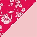 Florabella Framboise / Rose pâle